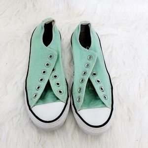 Converse All Star Sneakers Mint Green Size 8